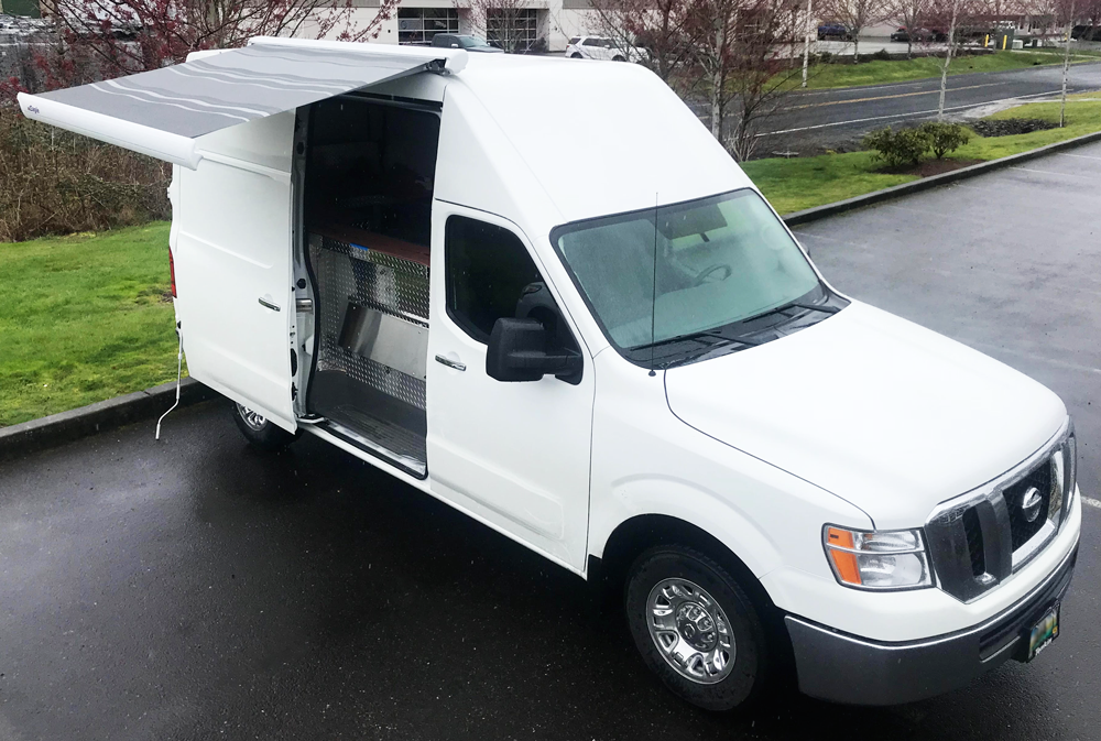 Nissan Nv2500 Fiamma Awning Install Panther Rv Products