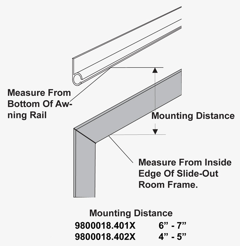 How to measure for a slide-out awning?